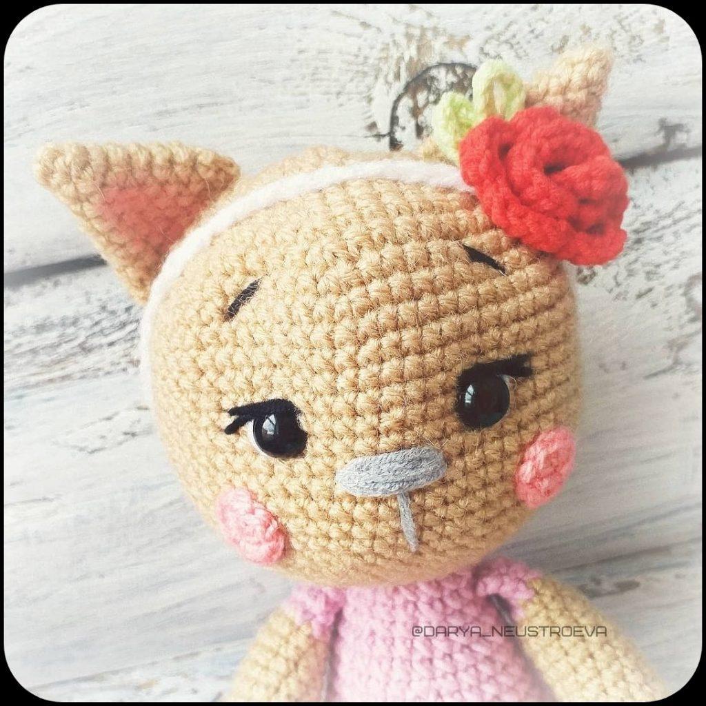 Cute and Free Little Cat Amigurumi Pattern | Crochet, Crochet ... | 1024x1024