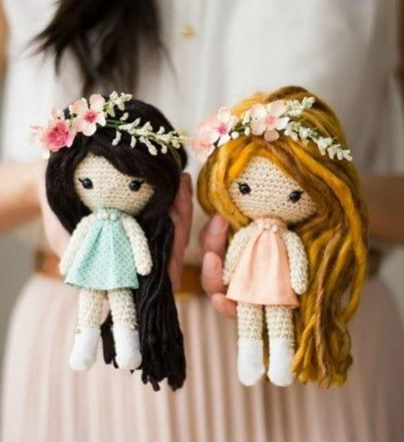 Bella girl free amigurumi pattern | Crochet dolls free patterns ... | 490x448