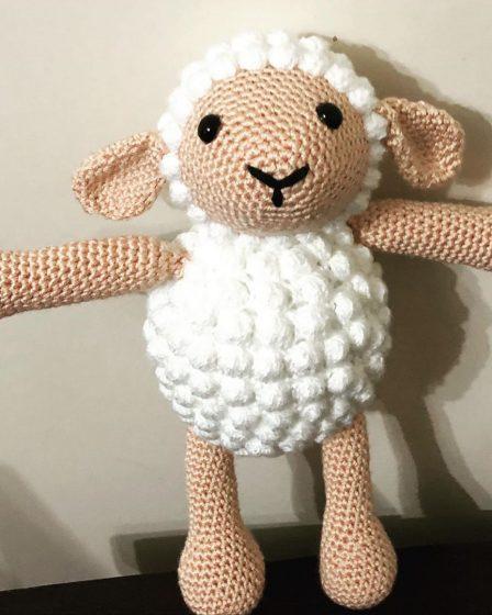 Amigurumi Cute Sheep Free Pattern | Crochet sheep, Crochet sheep ... | 560x448